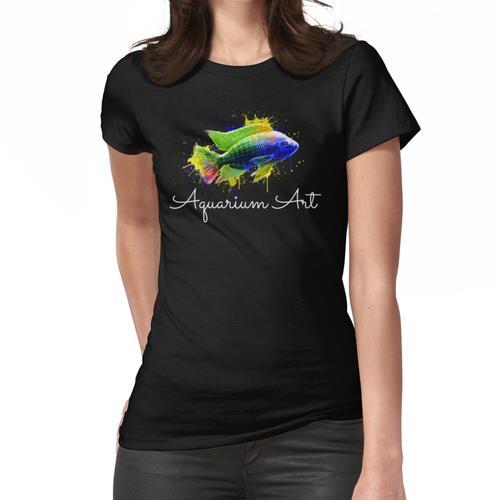 Aquarium Art - Pinsel Design Frauen T-Shirt