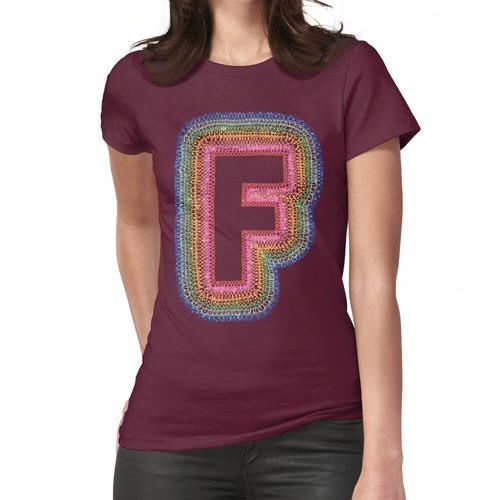 Das dekorierte F Frauen T-Shirt