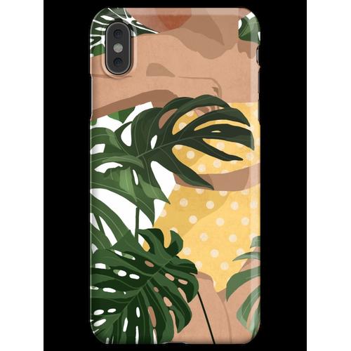Gelber Badeanzug iPhone XS Max Handyhülle