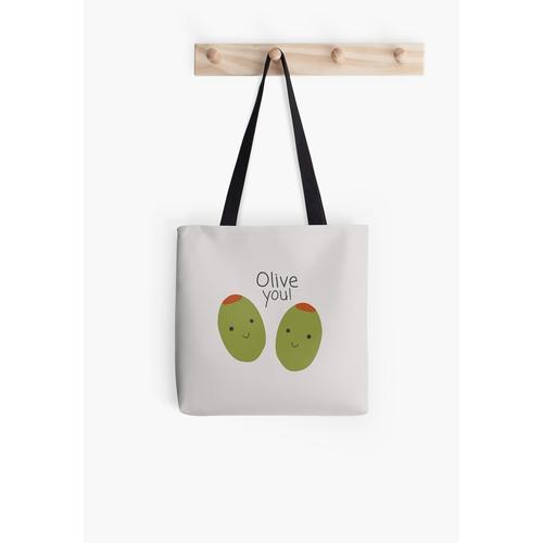 Oliven (du) Zeit :) Tasche