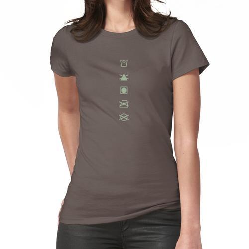 Waschanleitung Frauen T-Shirt