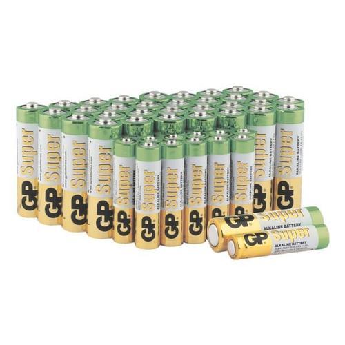 44er-Pack Batterien »Super Alkaline« 32x Mignon / AA / LR06, 12x Micro / AAA / L, GP Batteries