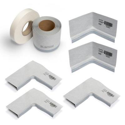 Blumtech PROFI-TOP Abdichtband-Set 3D für Duschwannen, 4064583000600