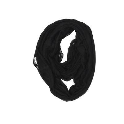 MEMORIES Fashion Accessories Scarf: Black Solid Accessories