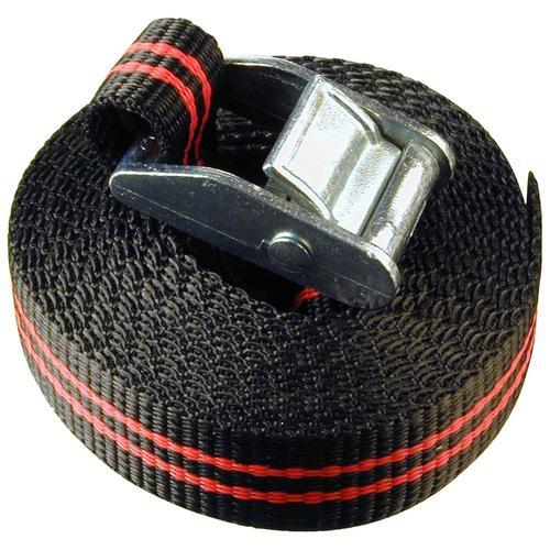 Connex Zurrgurt, einteilig, mit Klemmschloss, 350 cm schwarz Auto-Aufbewahrung Autozubehör Reifen Zurrgurt