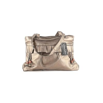 Chuns Fashion - Chuns Fashion Shoulder Bag: Gold Solid Bags