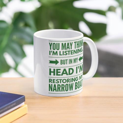 In my head; Narrow Boat Mug