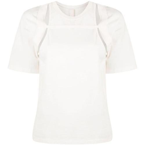 Dion Lee Geripptes T-Shirt