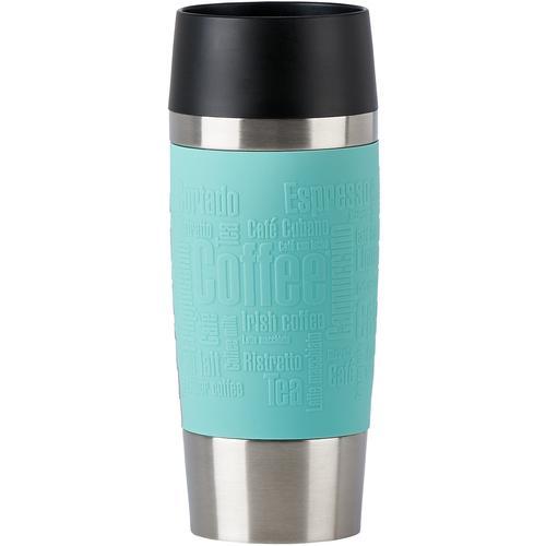 Emsa Thermobecher Travel Mug, (1 tlg.), 100% dicht, 360 ml grün und Coffee to go Geschirr, Porzellan Tischaccessoires Haushaltswaren