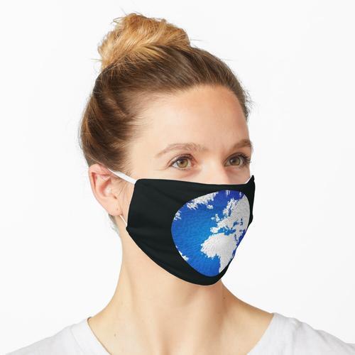 Der Globus Maske