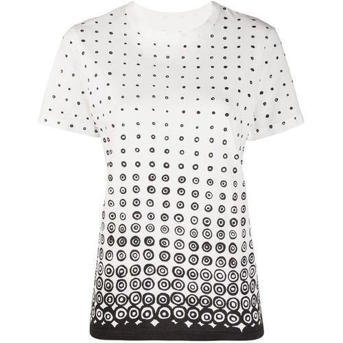 10 Corso Como Gepunktetes T-Shirt