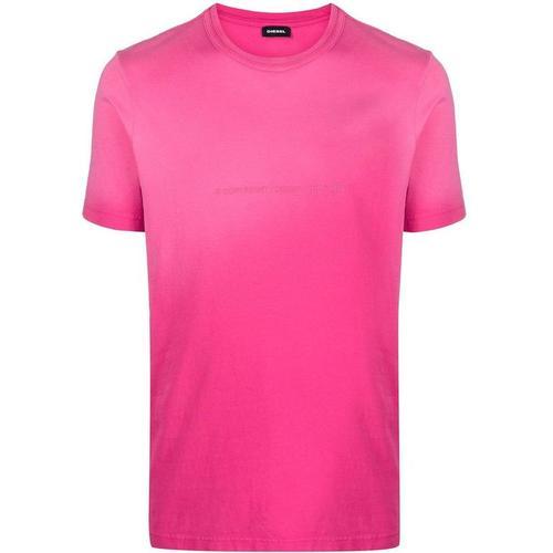 DIESEL T-Shirt mit Farbverlauf