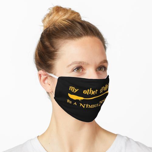 Mein anderer Kinderwagen ist ein Nimbus 2000 Maske