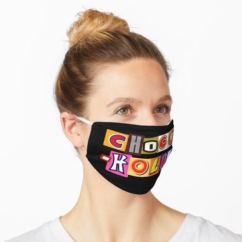 Chocoholic Chocolate Bar Addict Maske