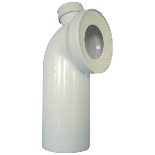 CORNAT WC-Anschlussrohr, mit Stutzen 40/50 mm weiß Sanitärtechnik Bad Sanitär WC-Anschlussrohr