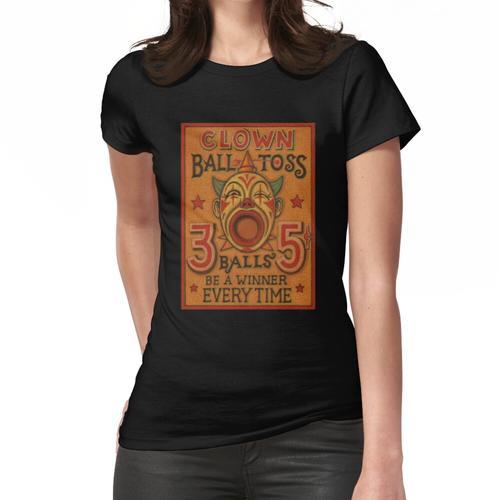 Clown Ballwurf Frauen T-Shirt