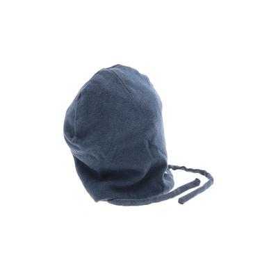 Zara Baby Hat: Blue Solid Accessories