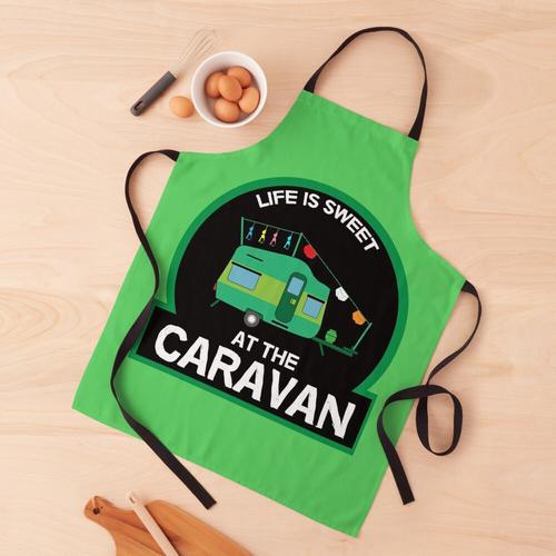 Lustiges Caravan-Leben - Caravaning - Neuheit Caravan-Geschenke - Best Fun Caravan Camping Schürze