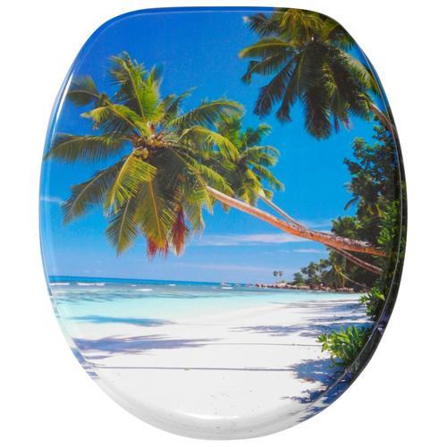 Sanilo WC-Sitz Karibik blau WC-Sitze WC Bad Sanitär