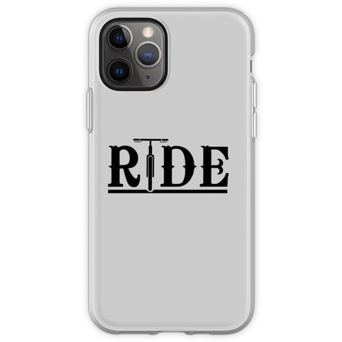 Fahräder fahren Flexible Hülle für iPhone 11 Pro