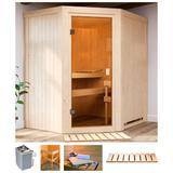 Karibu Sauna Fedder, 4,5 kW Ofen...