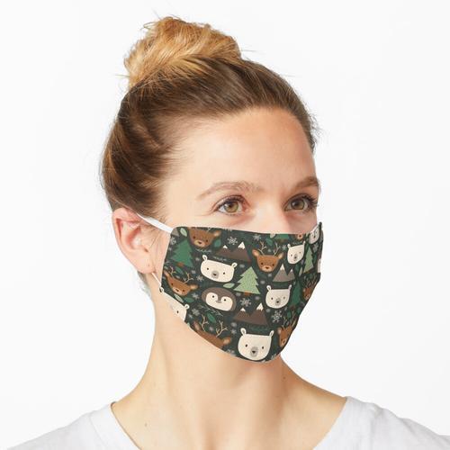 Winterkreaturen Maske