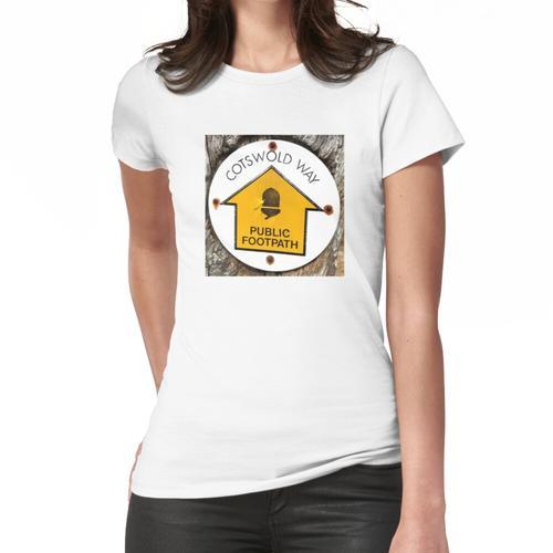 Der Cotswolds-Weg Frauen T-Shirt