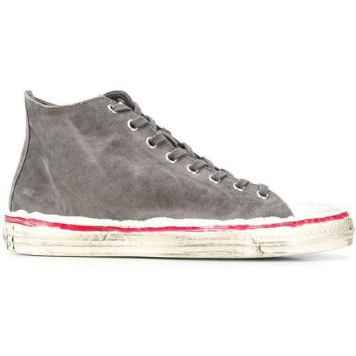 Marni Bemalte High-Top-Sneakers