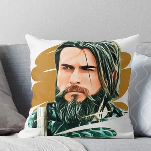 TURGUT BEY Throw Pillow