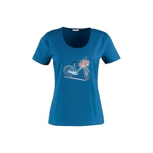 Deerberg Damen Jersey-Shirt Felizia korsarenblau