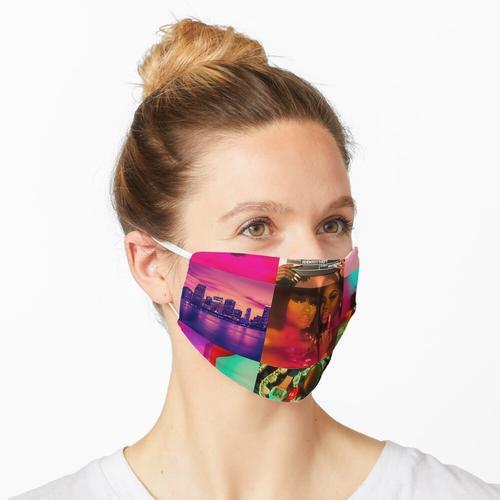 Stadt auf Schleuse Maske