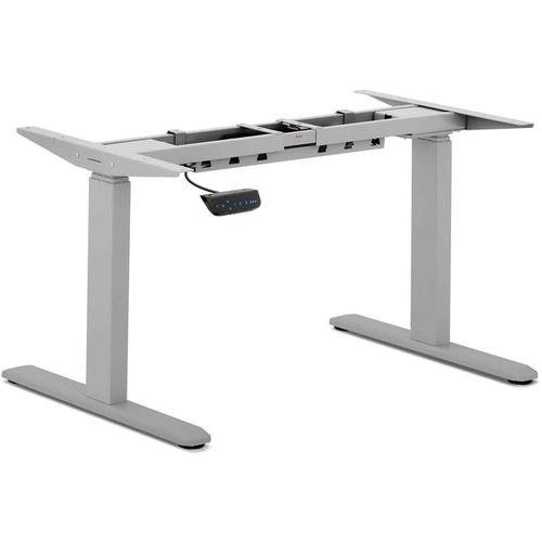 Fromm & Starck Höhenverstellbarer Schreibtischgestell 200 W 100 kg grau