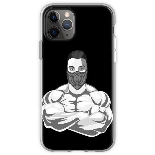 Fitnessstudio Fitness Fitnessstudio Flexible Hülle für iPhone 11 Pro