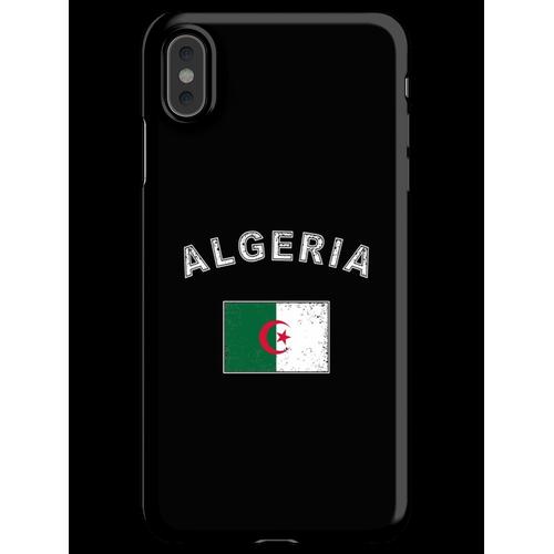 Algerien algerisch Flagge Fahne iPhone XS Max Handyhülle