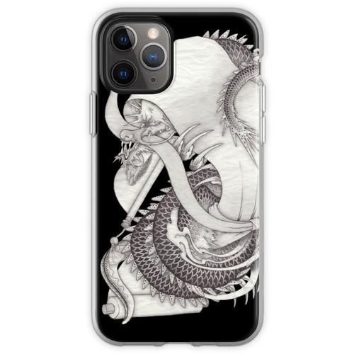 Lange Schlange lange Schlange lange Schlange Flexible Hülle für iPhone 11 Pro