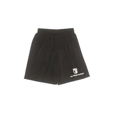 A4 Shorts: Black Solid Bottoms -...