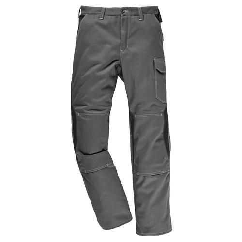 Kübler Arbeitshose, mit Kniepolstertaschen grau Herren Arbeitshosen Arbeits- Berufsbekleidung Arbeitshose
