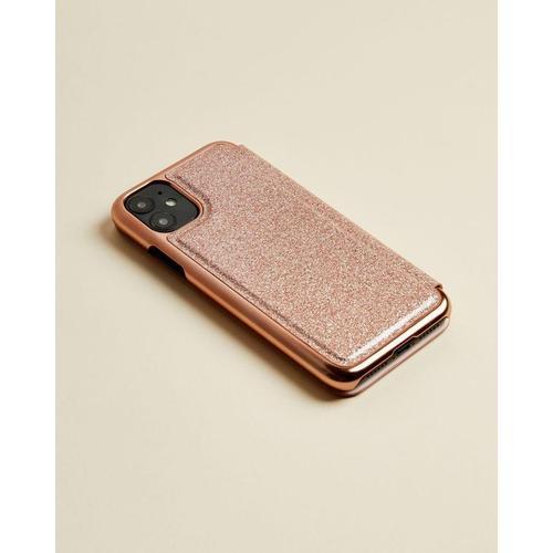 Ted Baker Iphone 11-hülle Im Glitzerdesign Mit Spiegel