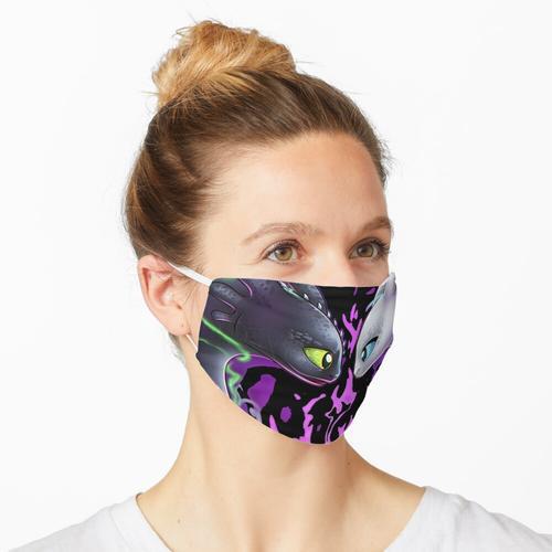 Zahnlose Nachtpelzmaske Maske