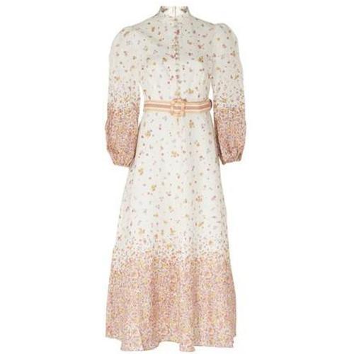 Zimmermann Langes Kleid mit Gürtel