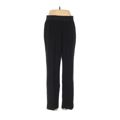 DKNY Dress Pants - Mid/Reg Rise: Black Bottoms - Size Small