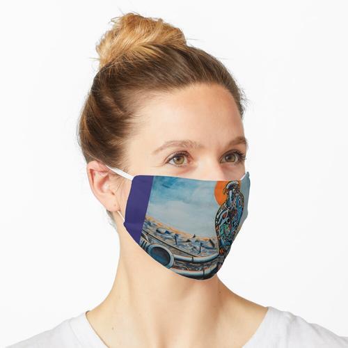 Kultureller Abriss Maske