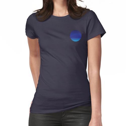 Blauer Kreis Frauen T-Shirt
