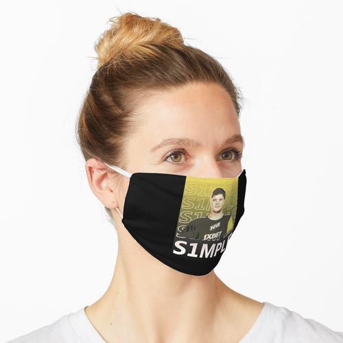 s1mple NAVI Natus Vincere CSGO Maske