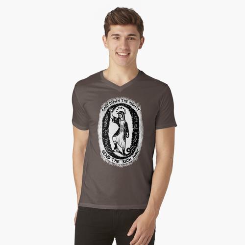 Magnificat t-shirt:vneck