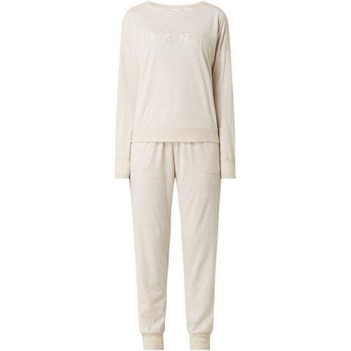 DKNY Pyjama aus Baumwoll-Viskose-Mix