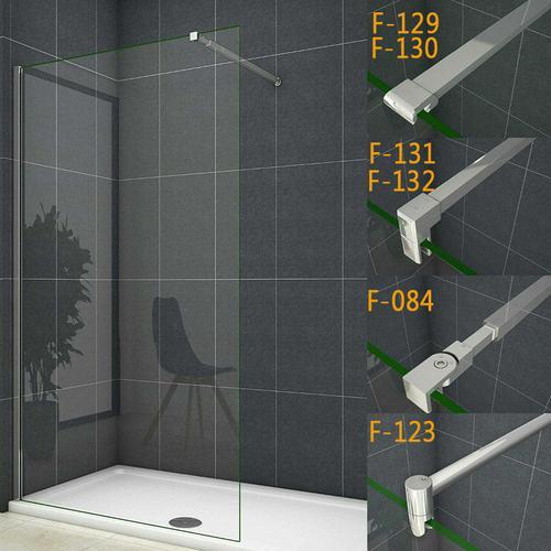 85x200cm walk in +90cm für 6-10mm Glas (F-131) Stabilisierungsstange