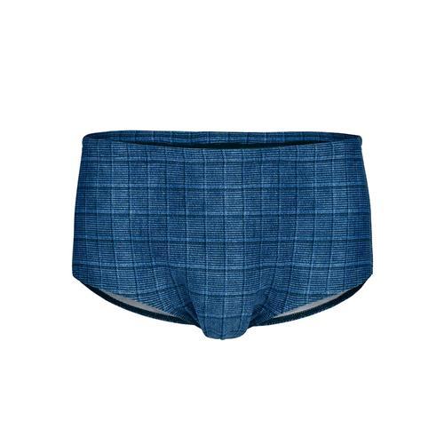Badehose Schwab Bademoden Blau::Schwarz