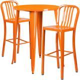 Flash Furniture - Flash Furniture CH-51090BH-2-30VRT-OR-GG 30