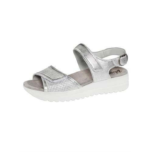 Sandale Vamos Silberfarben